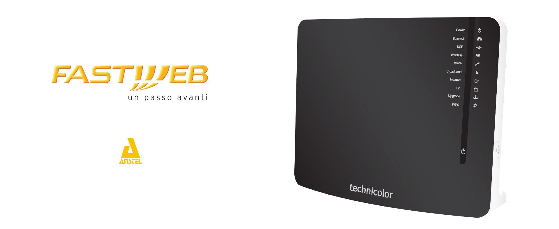 aprire porte router fastweb
