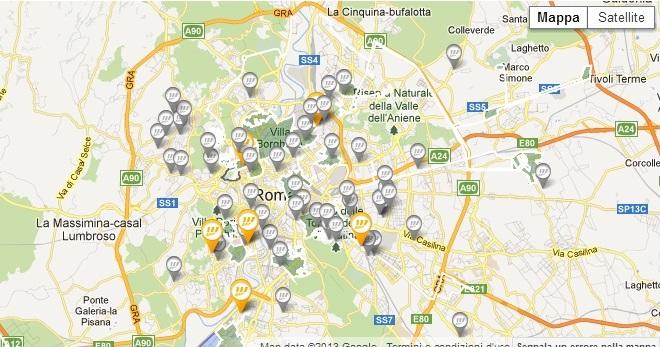 Mappa Copertura Fastweb fibra ottica
