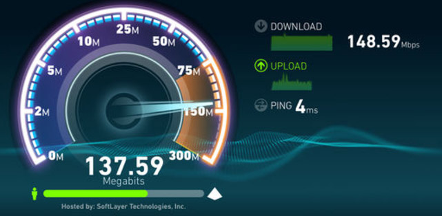 speed test Fastweb